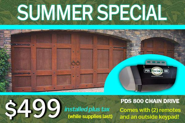 PDS800 Garage Door Opener